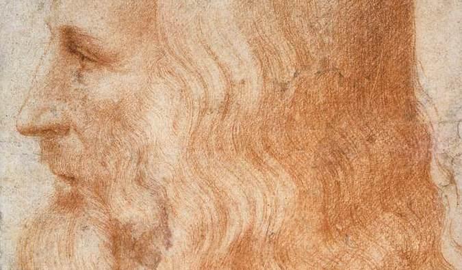 Retrato de Leonardo da Vinci por Francesco Melzi - Imagen de dominio público, vía Wikimedia Commons