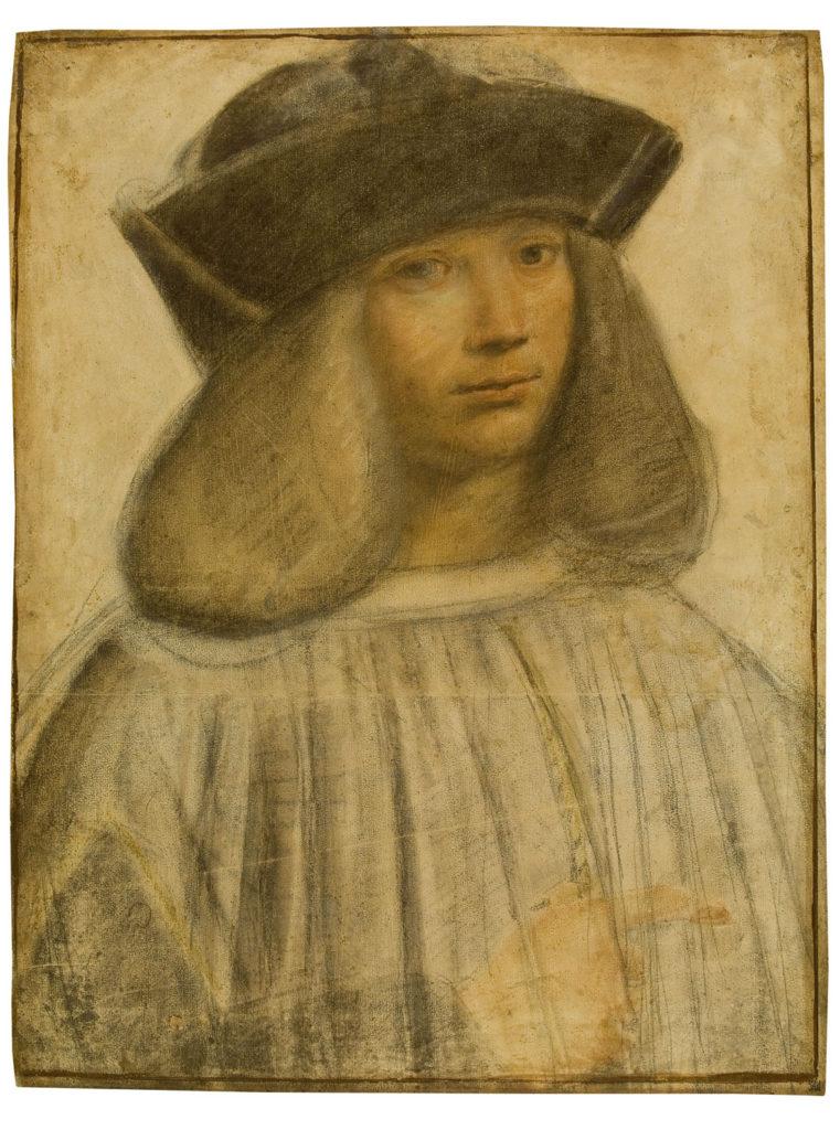 Retrato de Francesco Melzi por Giovanni Antonio Boltraffio - Imagen de dominio público, vía Wikimedia Commons