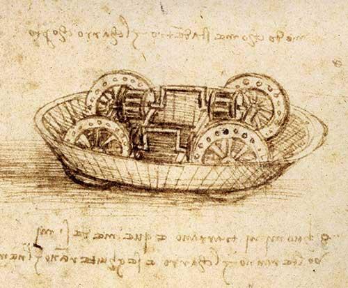 Aspecto interior del Tanque de Leonardo da Vinci