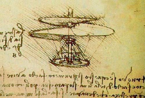 El Helicóptero de Leonardo da Vinci