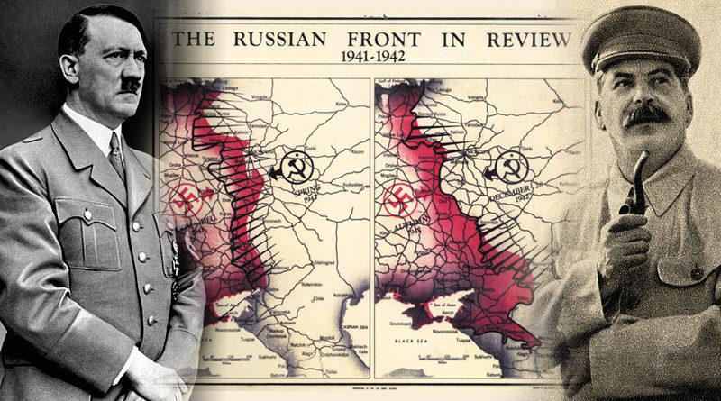 Hitler y Stalin: aliados y enemigos
