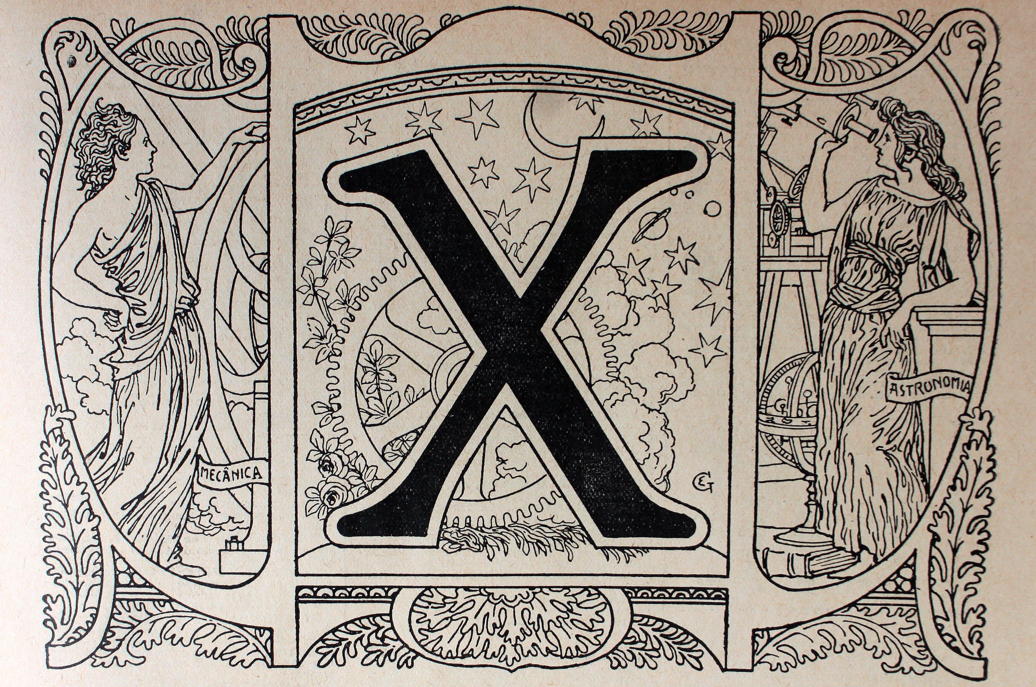 La letra X
