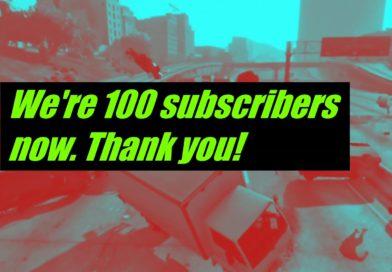 El Reloj de Sol ya tiene 100 suscriptores en Youtube. ¡Gracias!